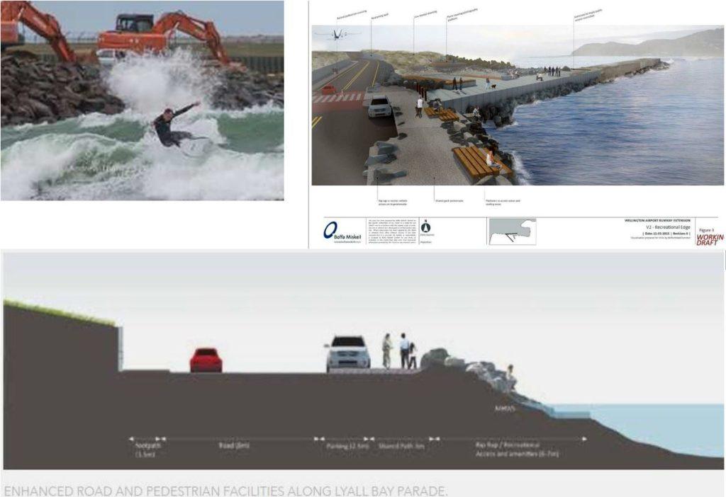 """Enhanced road and pedestrian facilities along Lyall Bay Parade."" At the expense of the Corner?"